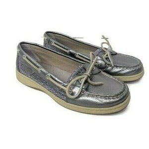 Sperry Top-Sider Angelfish Silver Shoes Loafers